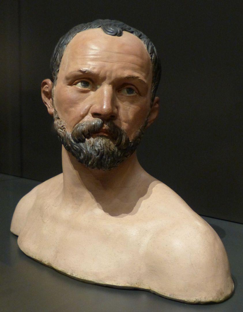 Selbstportrait Gesicht, frontal