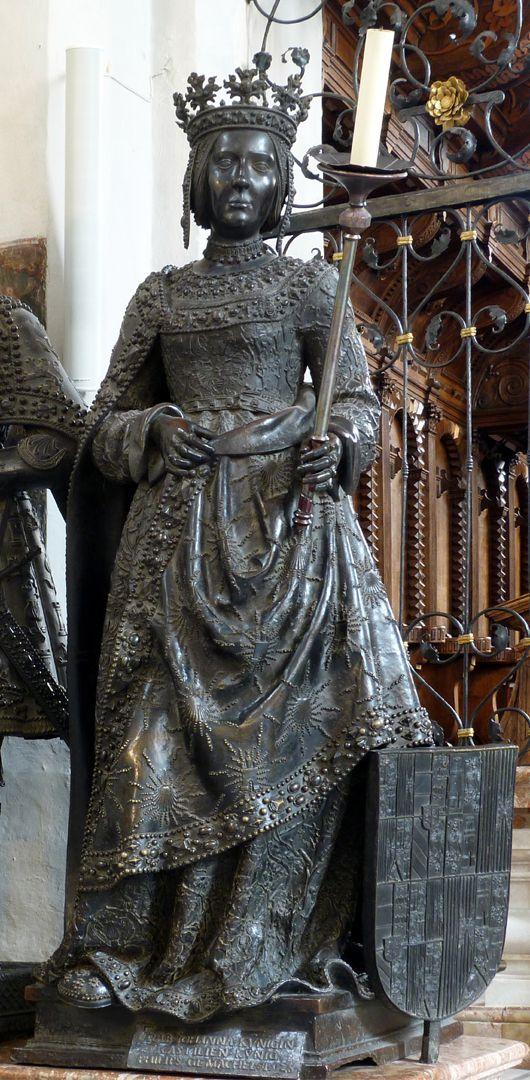Johanna von Kastilien (die Wahnsinnige)  (Innsbruck) Frontalansicht