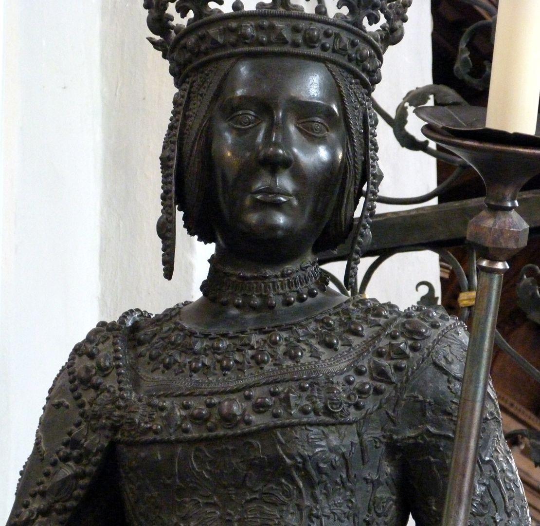 Johanna von Kastilien (die Wahnsinnige)  (Innsbruck) Büste