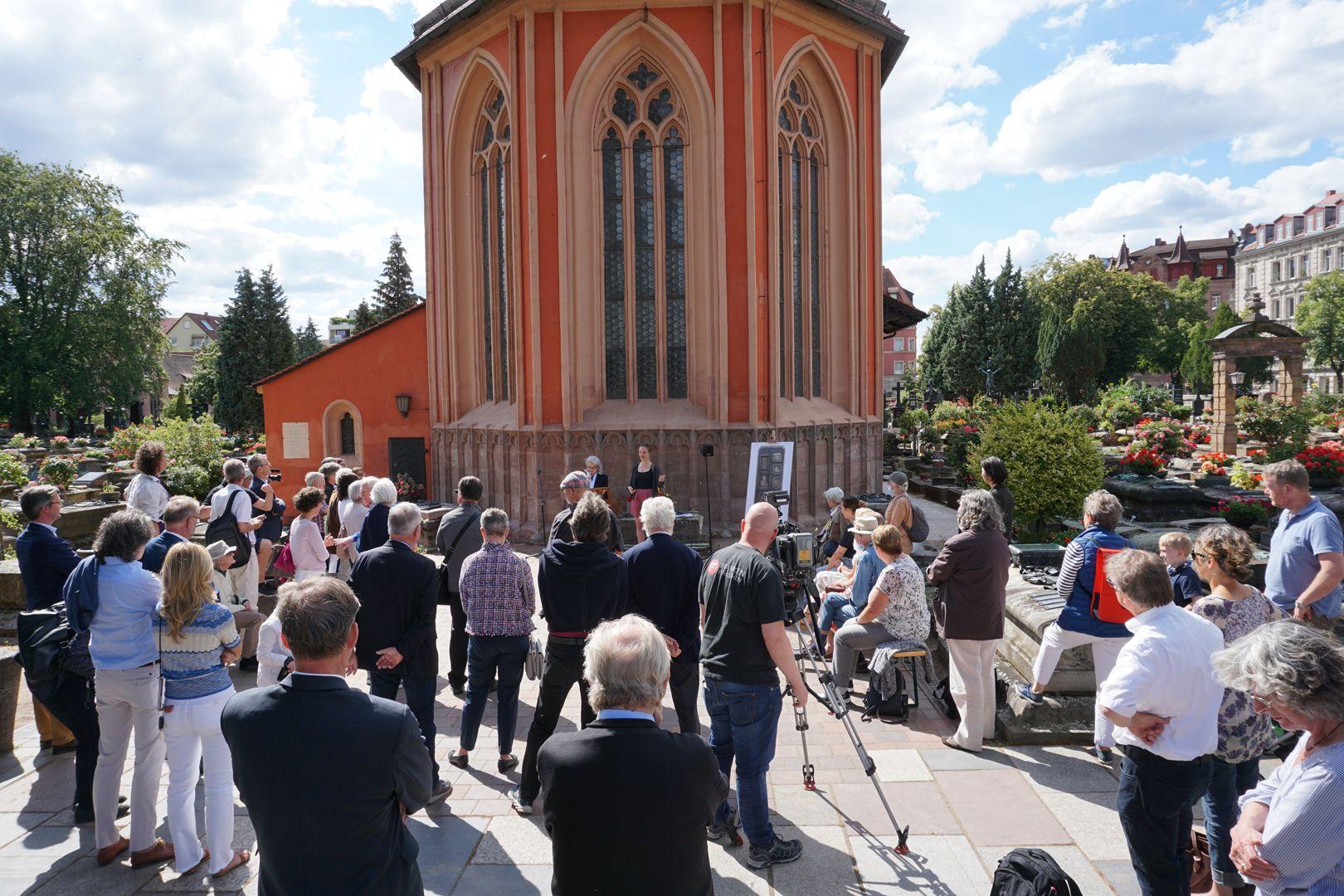 Paul Ritter Grabstätte Einweihung des neuen Paul Ritter Epitaphs