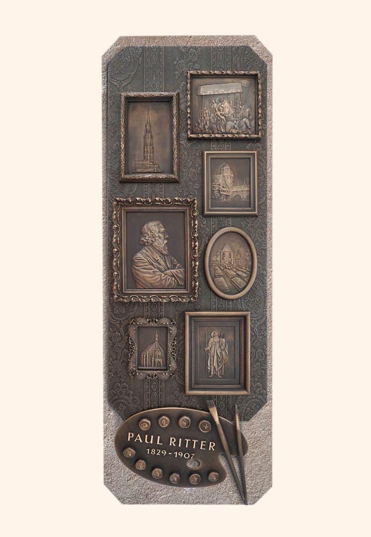 Paul Ritter Grabstätte Gesamtansicht von oben