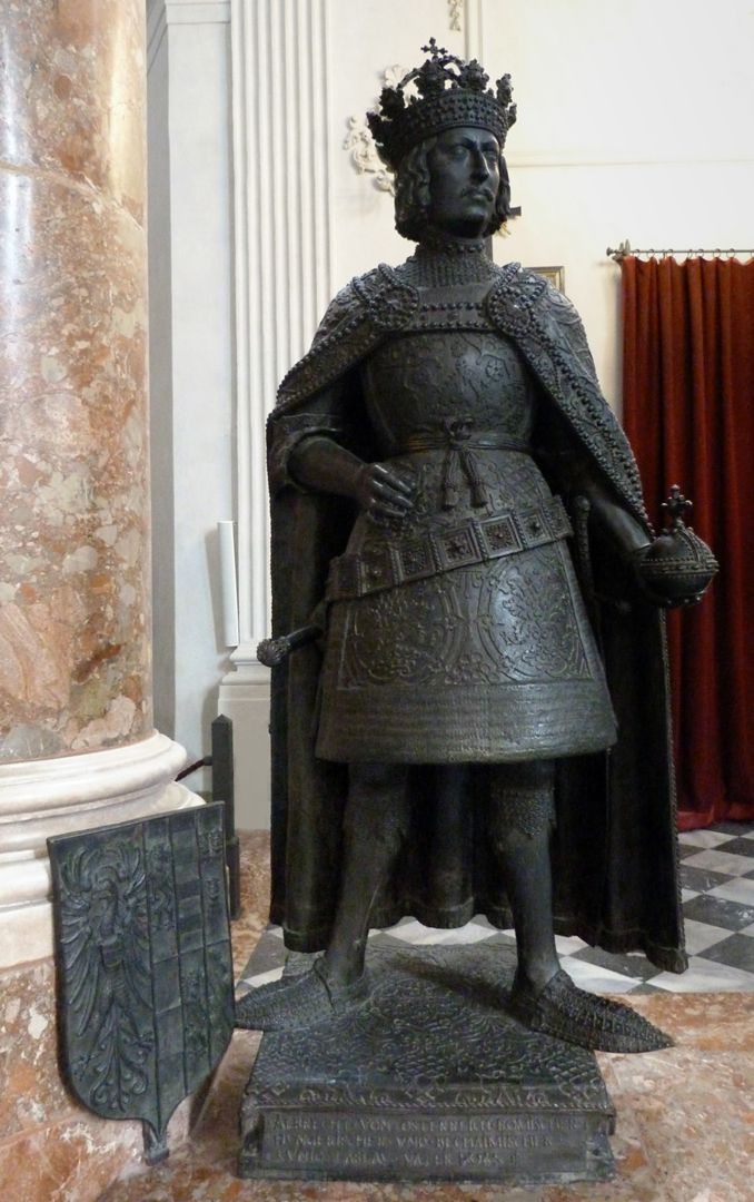 Albrecht II. (Innsbruck) Frontalansicht