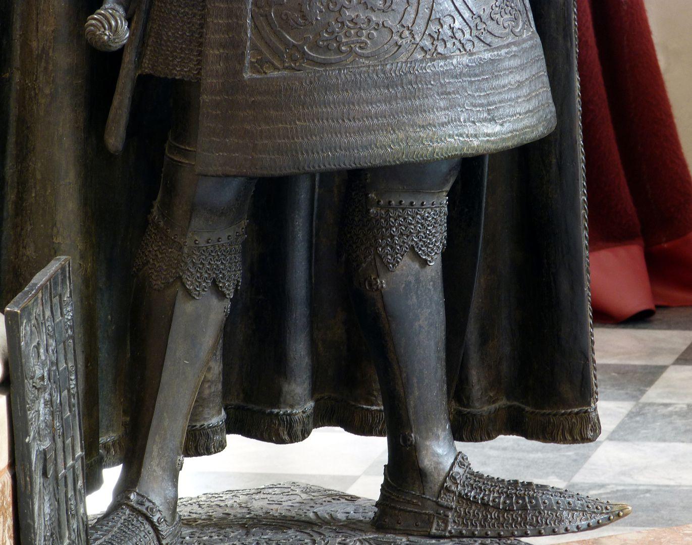 Albrecht II. (Innsbruck) Beine