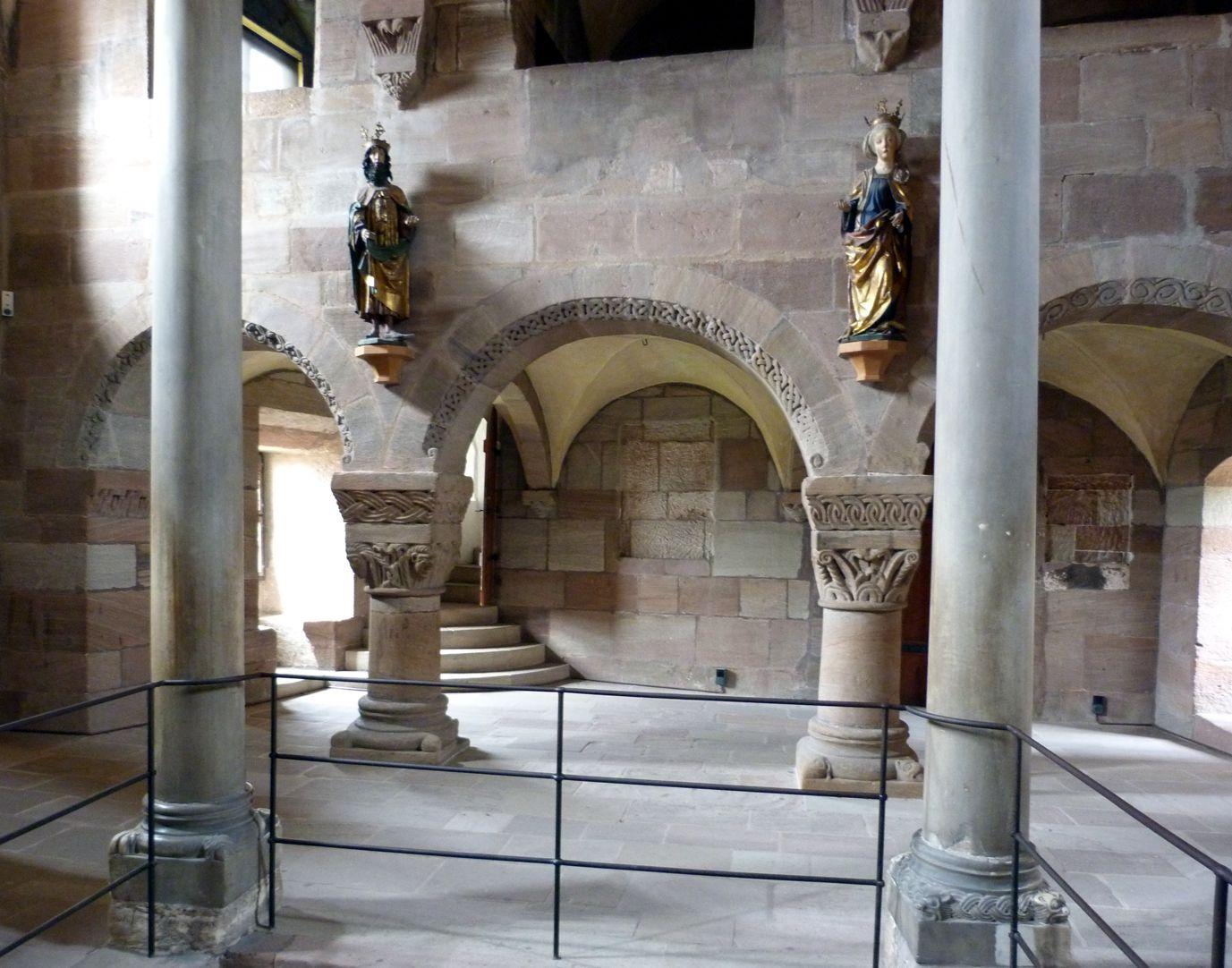 Kapelle der Kaiserburg Unterbau der Kaiserempore