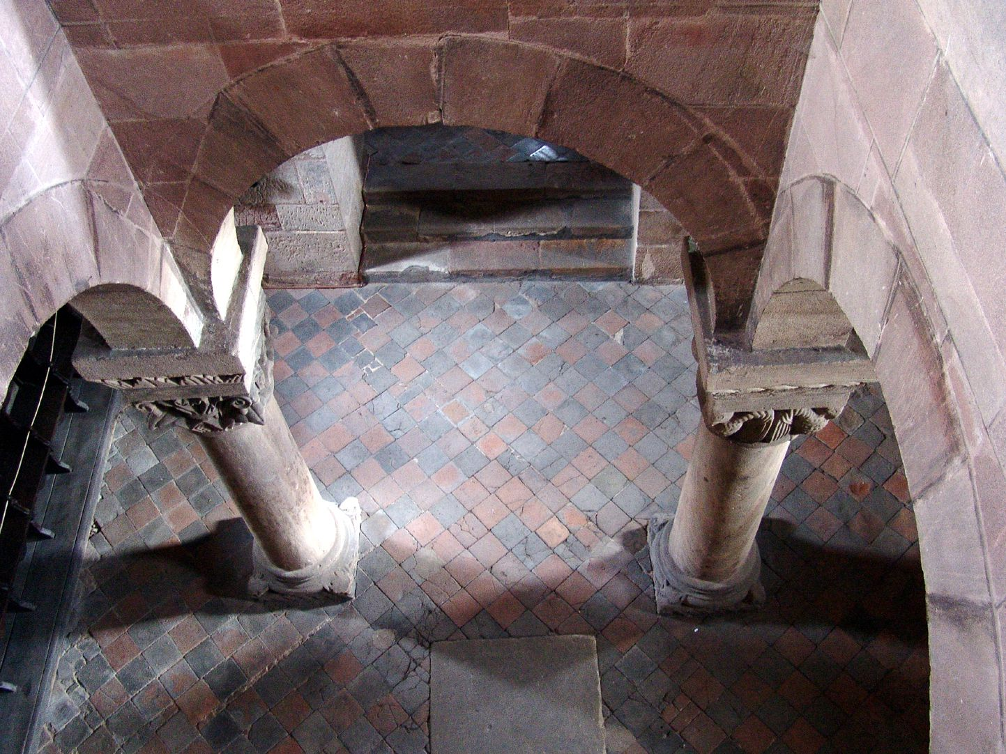Kapelle der Kaiserburg Blick in die Untere Kapelle
