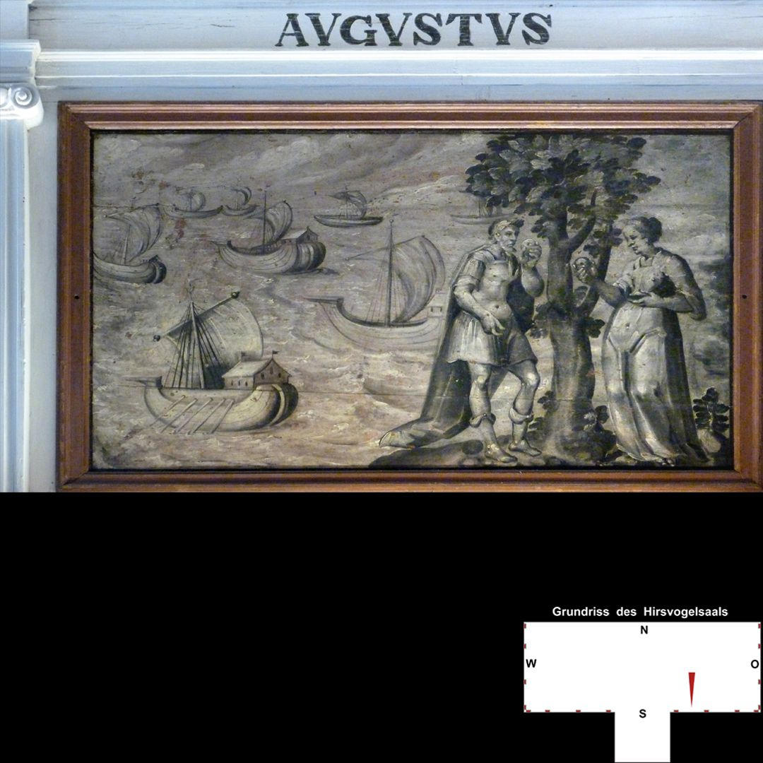 Cäsarenzyklus Vitenszene zu Augustus: Gesamt