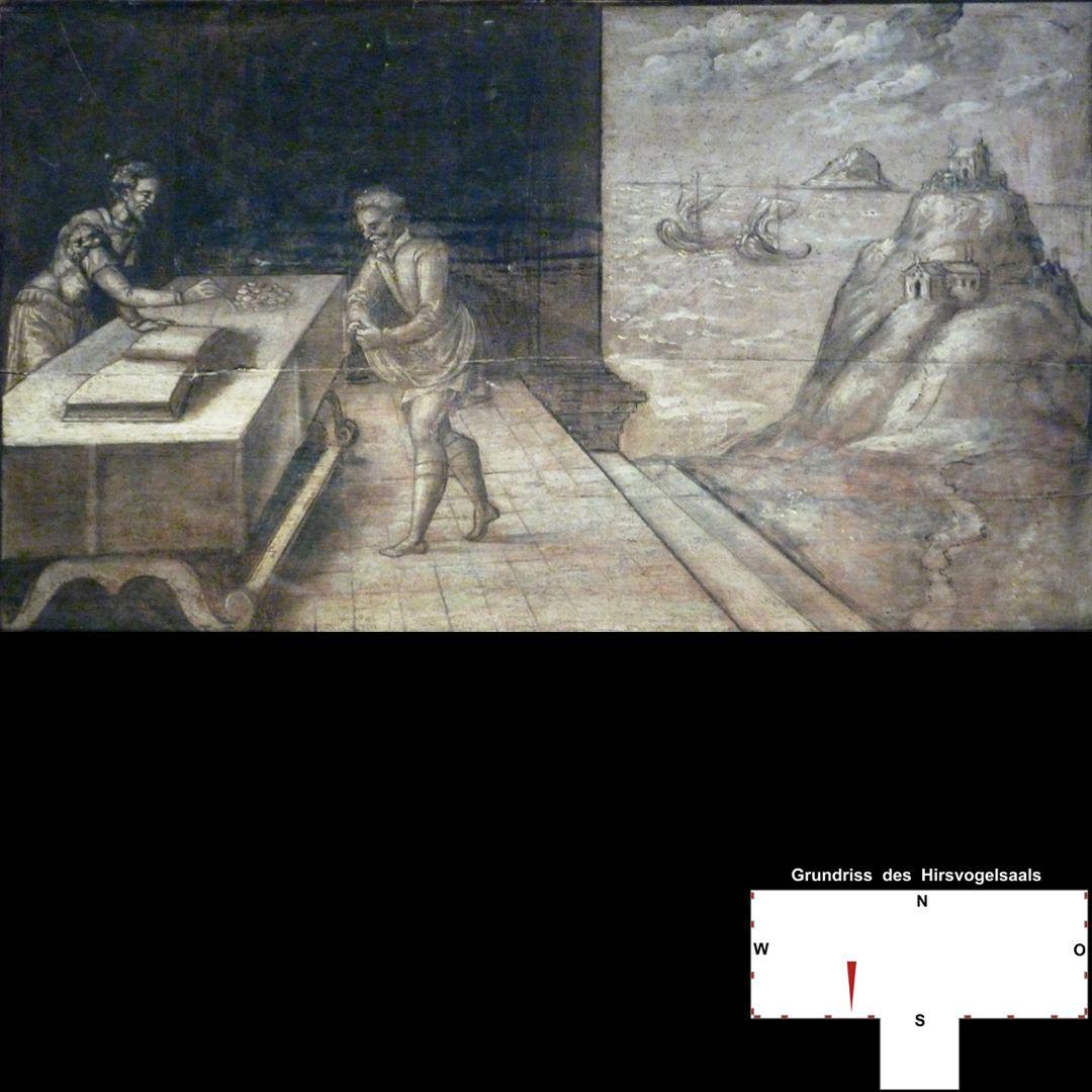 Cäsarenzyklus Vitenszene zu Tiberius: Gesamt