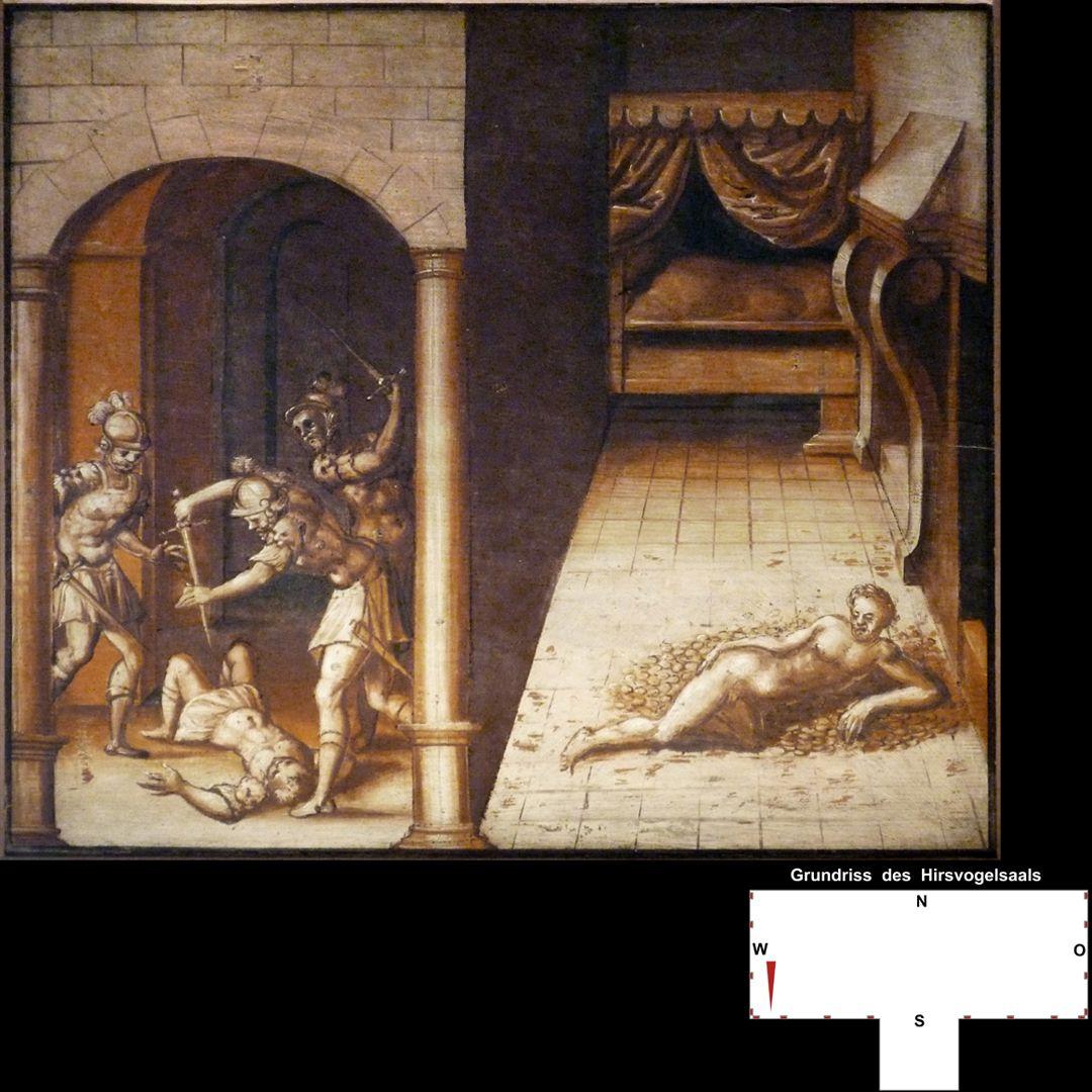 Cäsarenzyklus Vitenszene zu Gaius, genannt Caligula: Gesamt