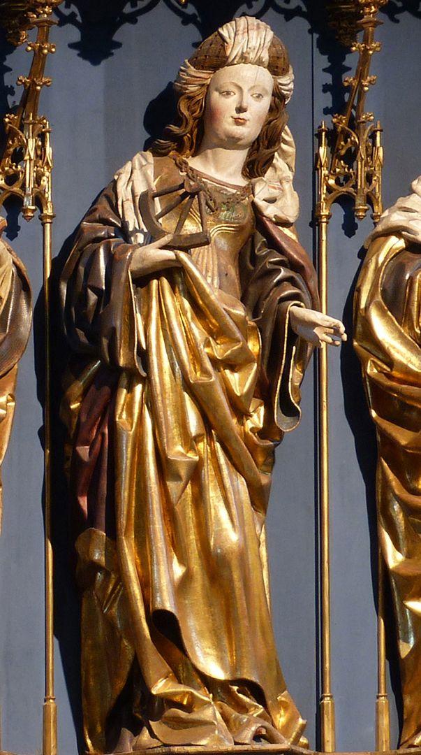 Katharinenretabel des Levinus Memminger St. Katharina