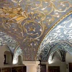 Gewölbeausmalung des Orlamündesaals