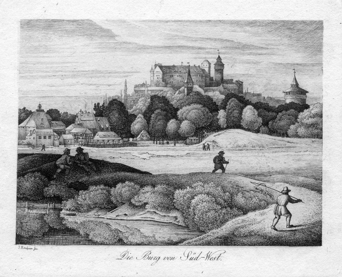 Die Burg von Süd-West
