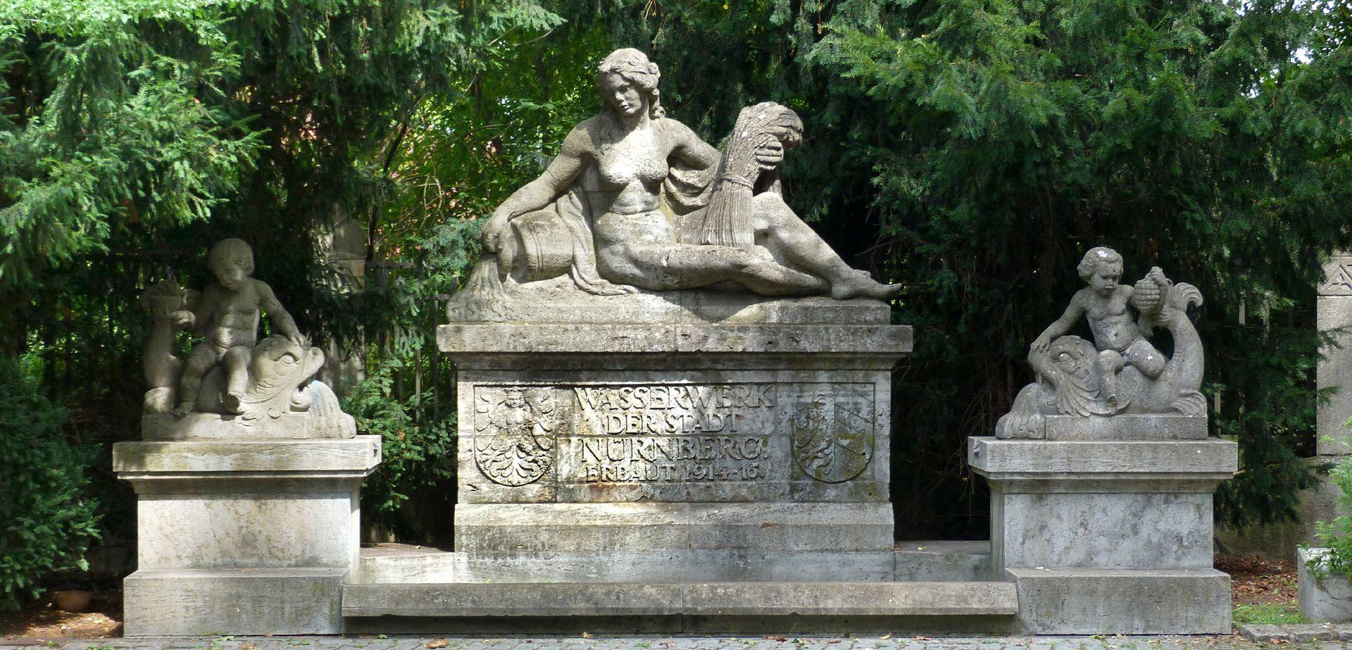 Pomonabrunnen Gesamtansicht