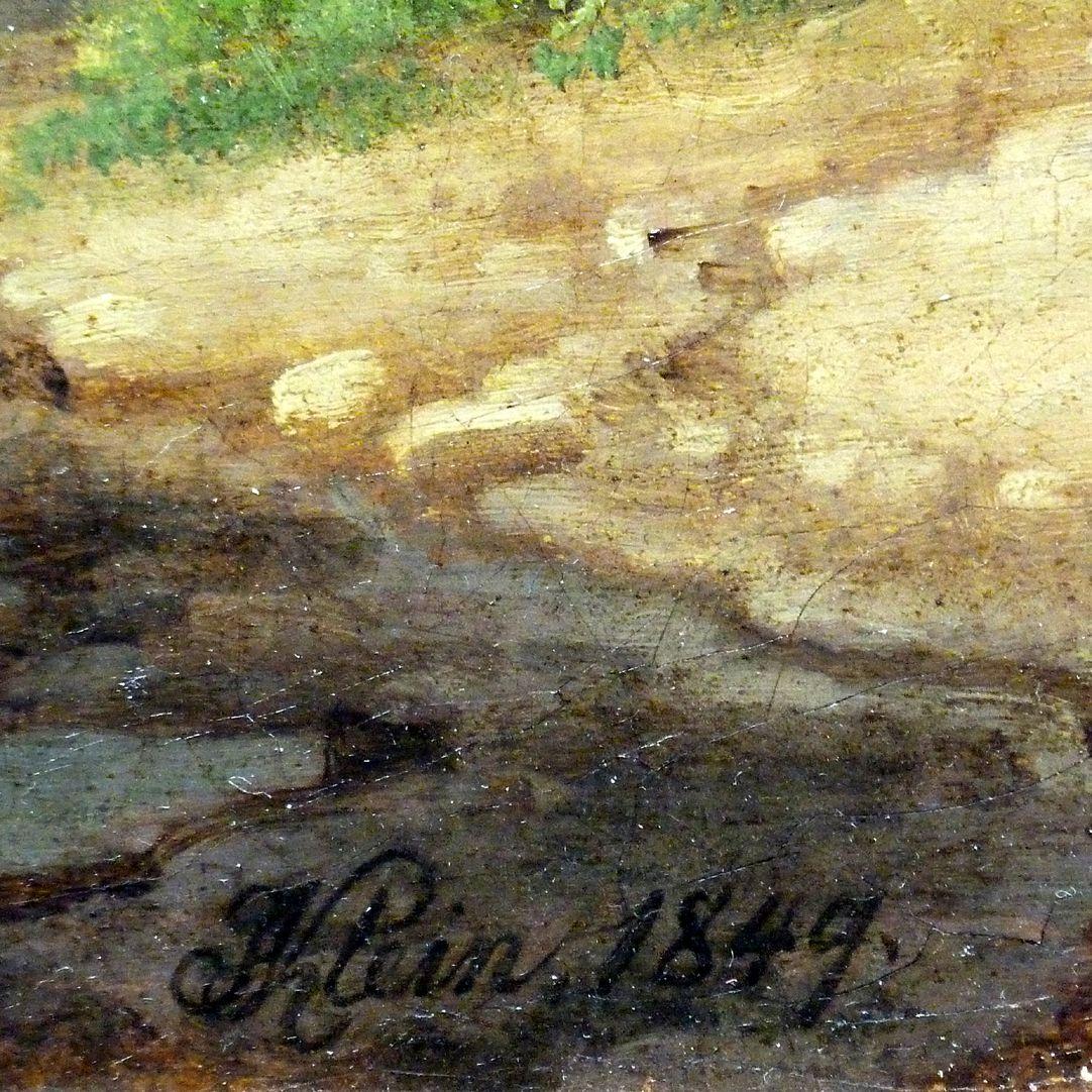 Römische Fuhrleute Signatur