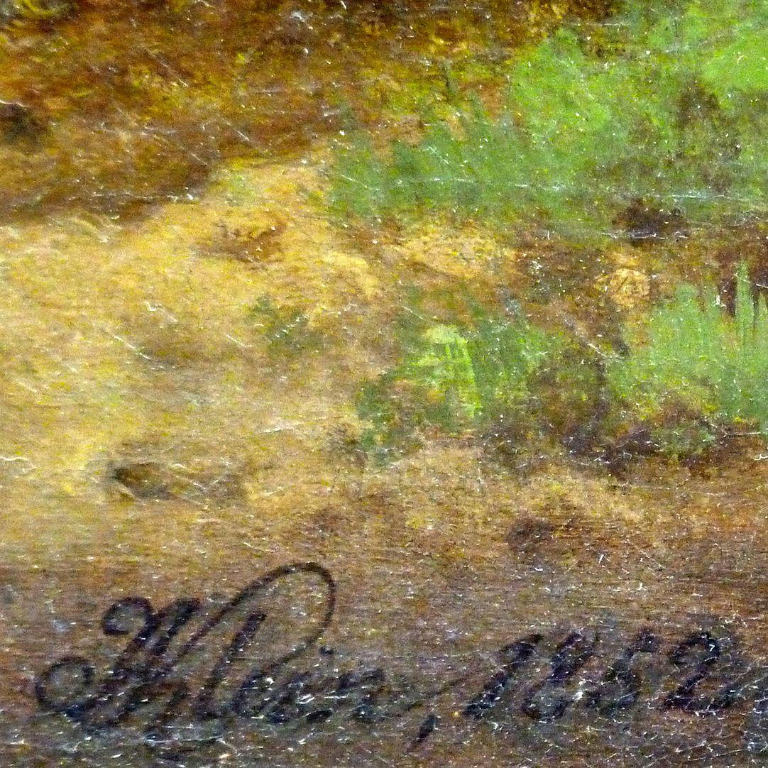 Rast Signatur am rechten unteren Bildrand