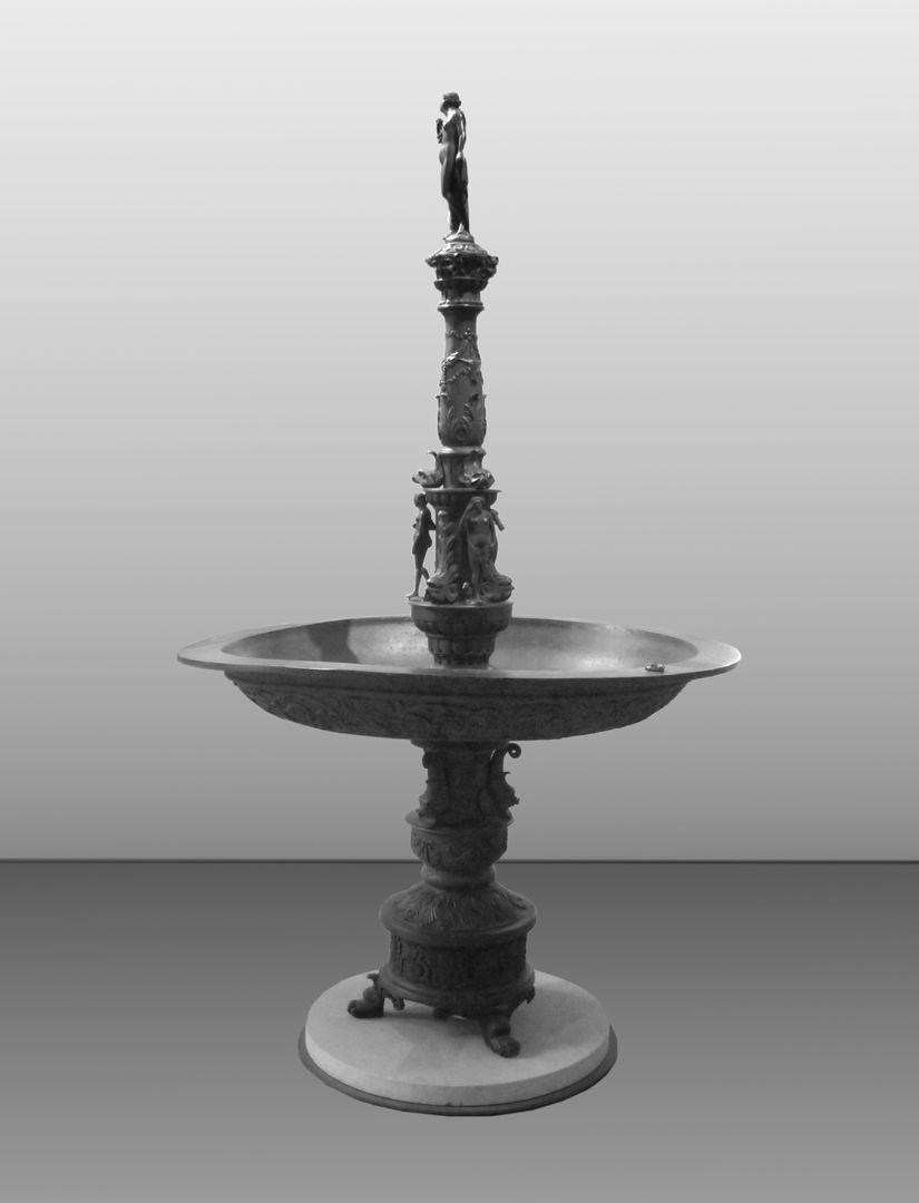 Kleopatra-Brunnen Gesamtansicht