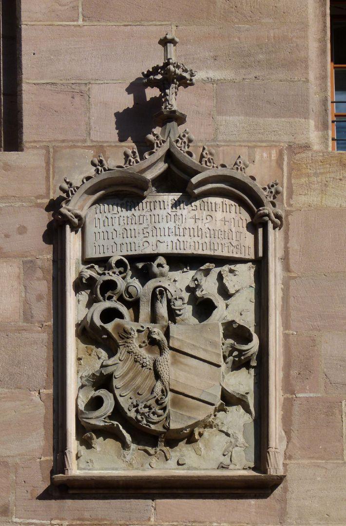 Wappenrelief Wappenrelief