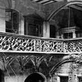 Hof des Anwesens von Peter Imhoff