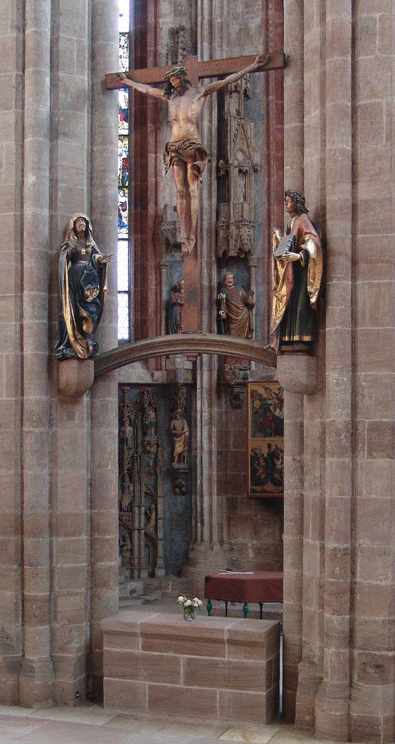 Kruzifixus Kreuzigungsgruppe