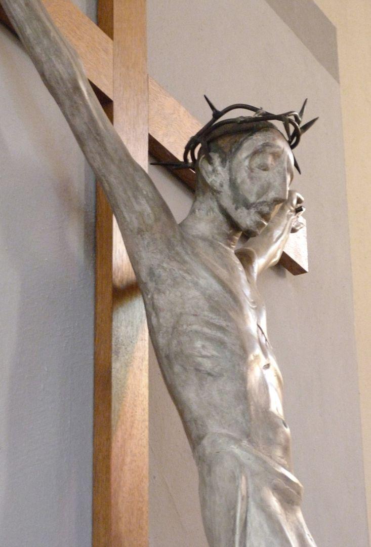 Christus am Kreuz Oberkörper