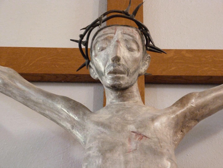 Christus am Kreuz Detail