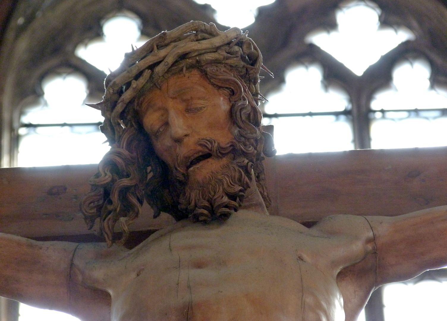 Kruzifixus Kopf