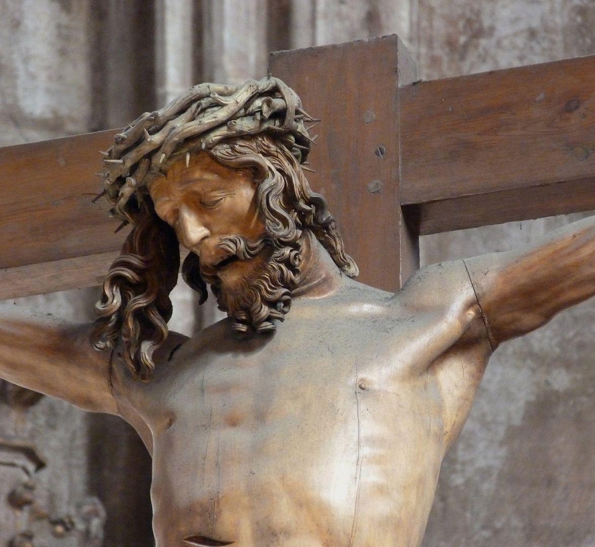 Kruzifixus Oberkörper