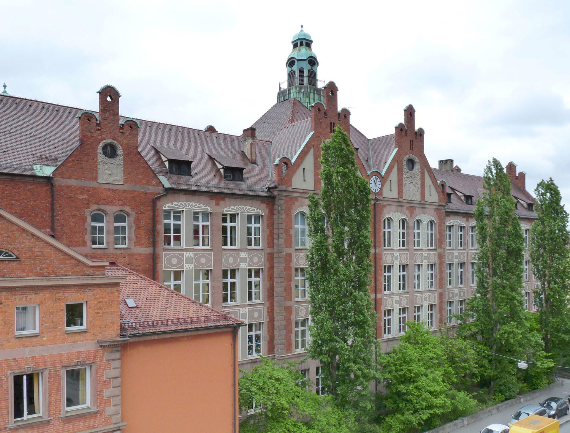 Dr. Theo-Schöller-Schule Hauptfassade