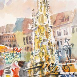 Hauptmarkt mit Schönem Brunnen