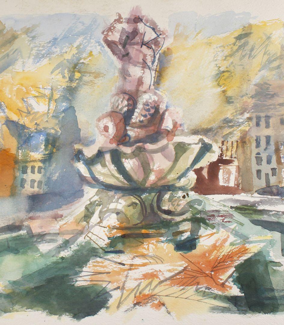 Tritonbrunnen Detail