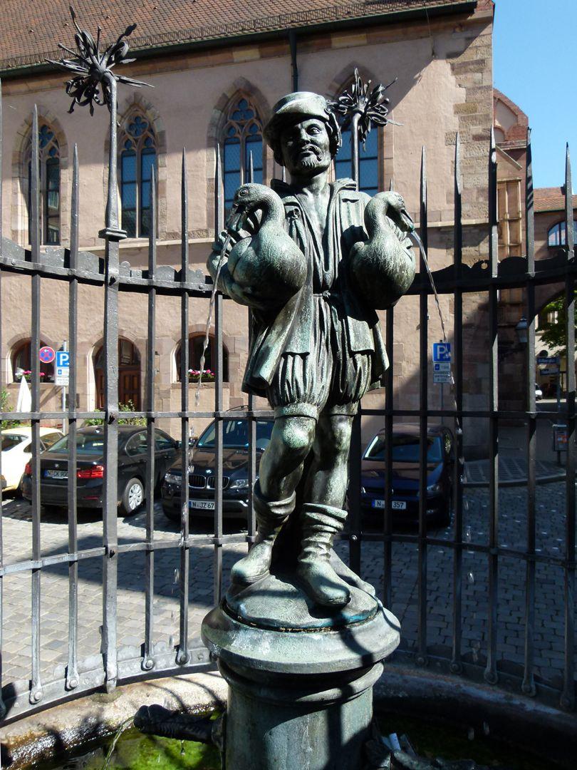 Gänsemännleinbrunnen Figur