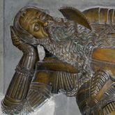 Grabfigur des Nicolaus Herburt-Odnowski (Lemberg, Ukraine)