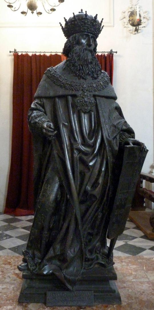 Leopold III. (Der Heilige) (Innsbruck) Frontalansicht