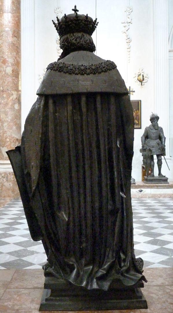 Leopold III. (Der Heilige) (Innsbruck) Rückansicht