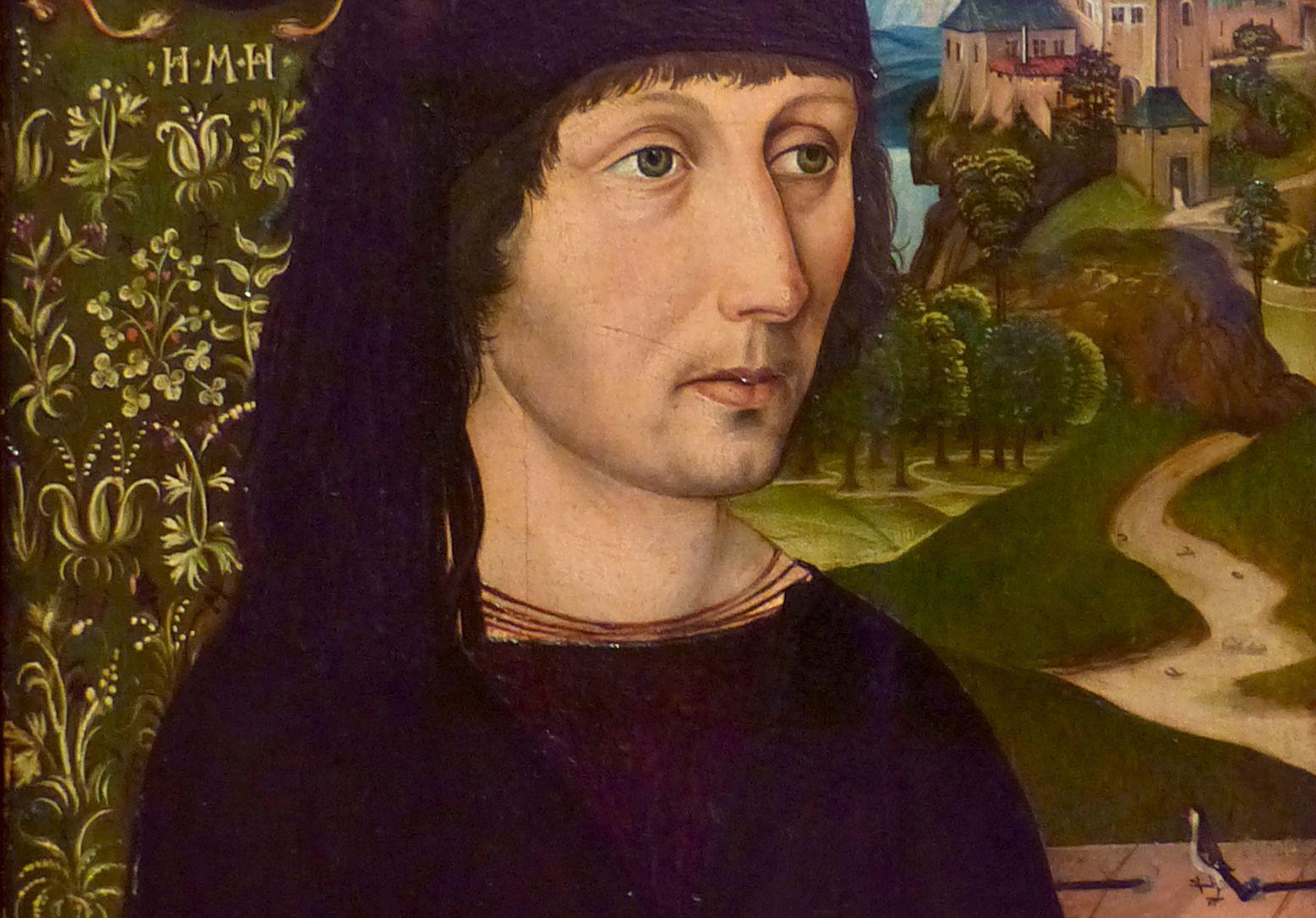 Portrait des Levinus Memminger Detail