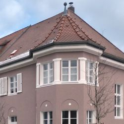 Wohnhausreihe in der Danziger Straße