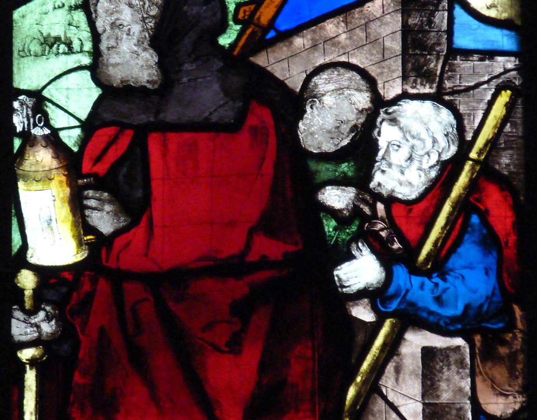 Loeffelholz-Fenster Geburt Christi: Detail