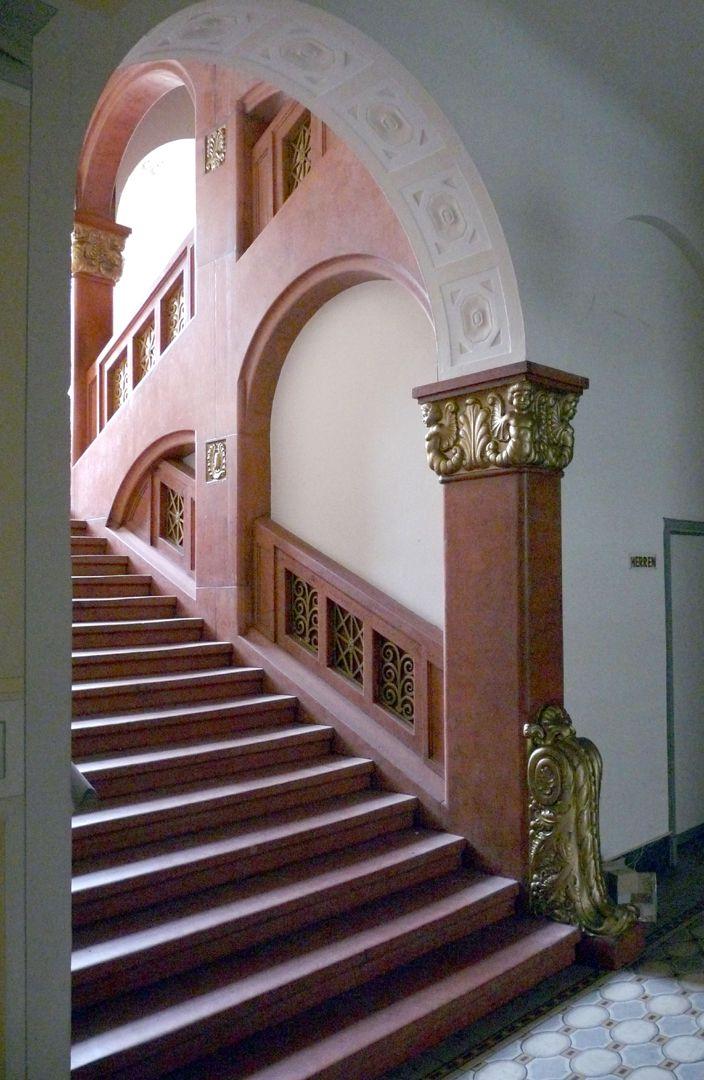 Hotel Deutscher Hof Treppenhaus, Frauentorgraben