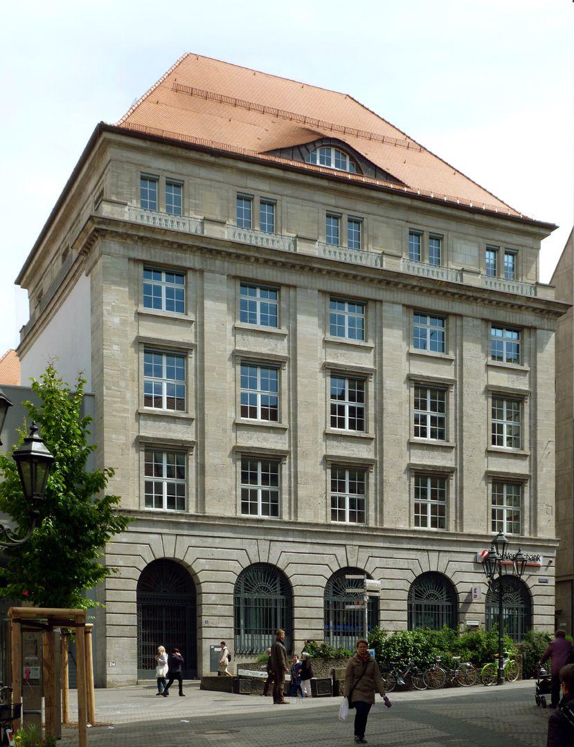 Bayerische Diskonto- und Wechselbank Fassade