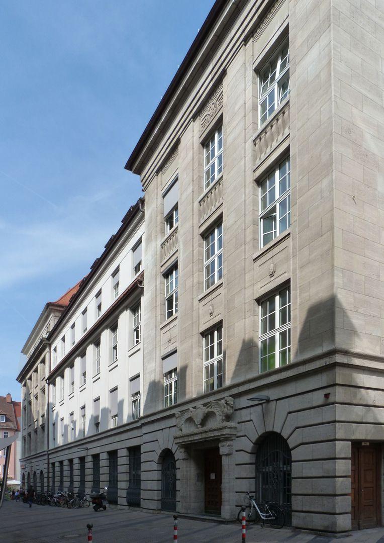 Bayerische Diskonto- und Wechselbank Seitenansicht