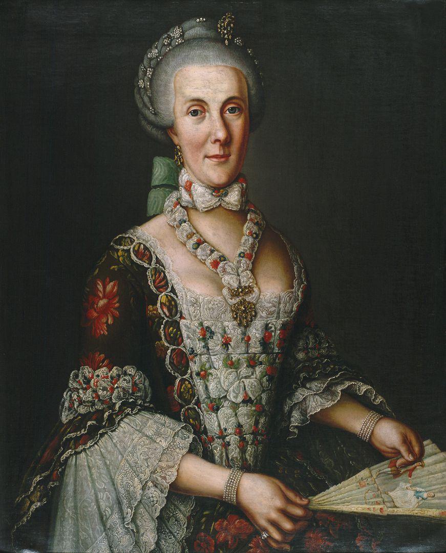 Portrait der Magdalena Barbara von Hailbronner