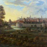 Nürnberger Stadtansicht von Osten