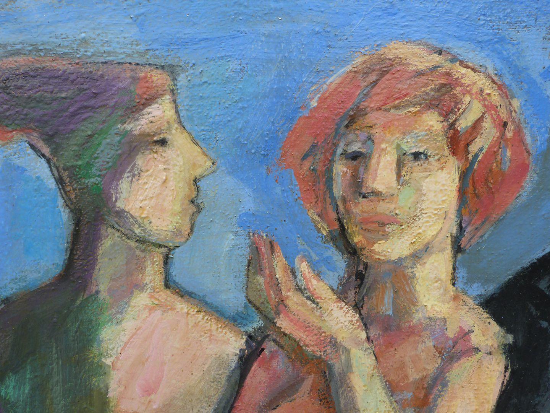 Maler und Modell Detail
