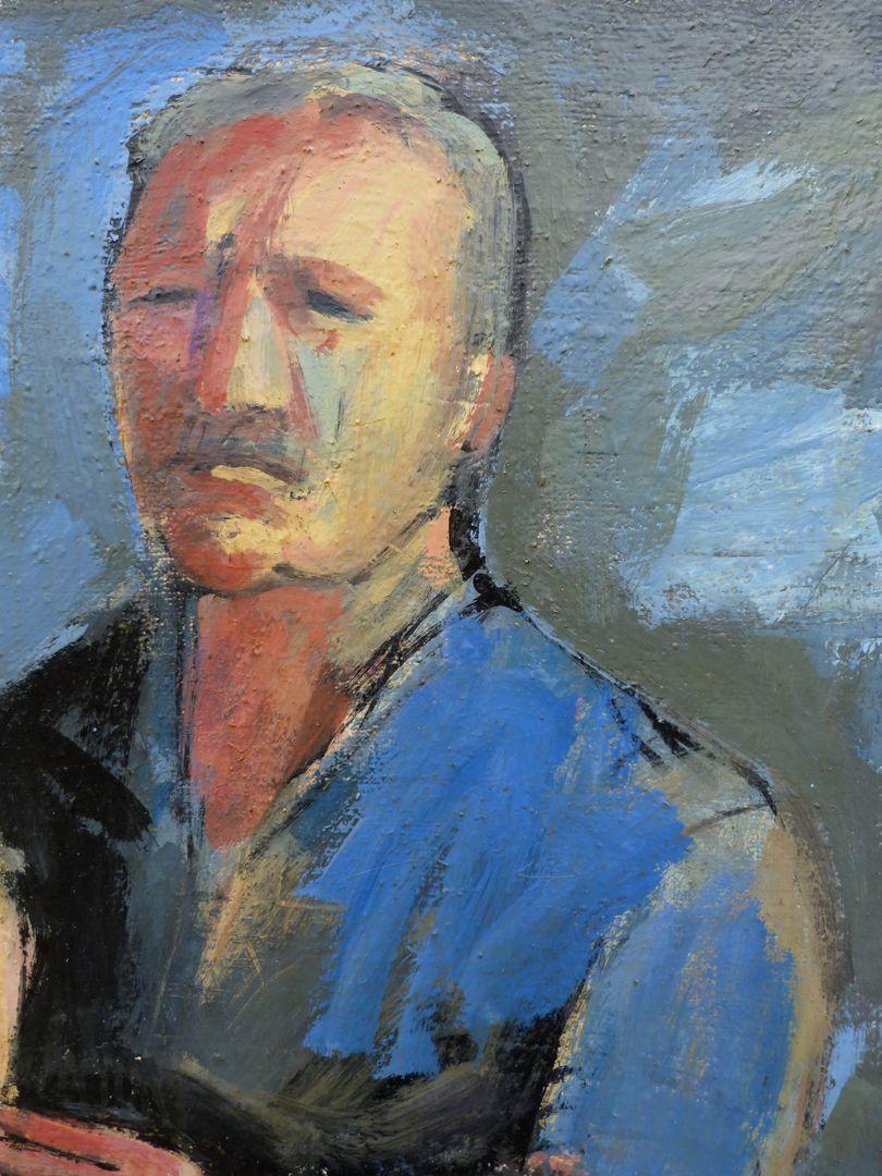 Maler und Modell Selbstbildnis des Malers