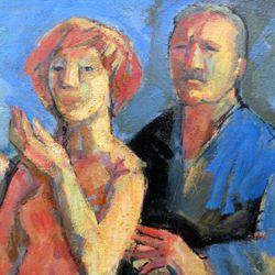 Maler und Modell