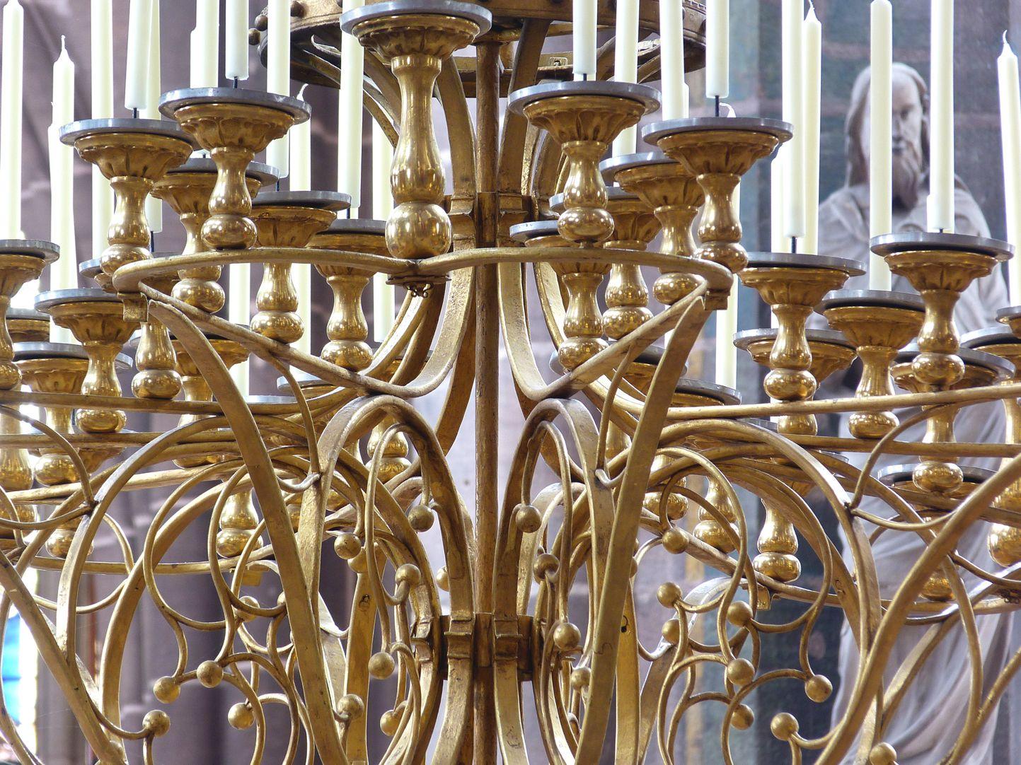 Marienleuchter Detail