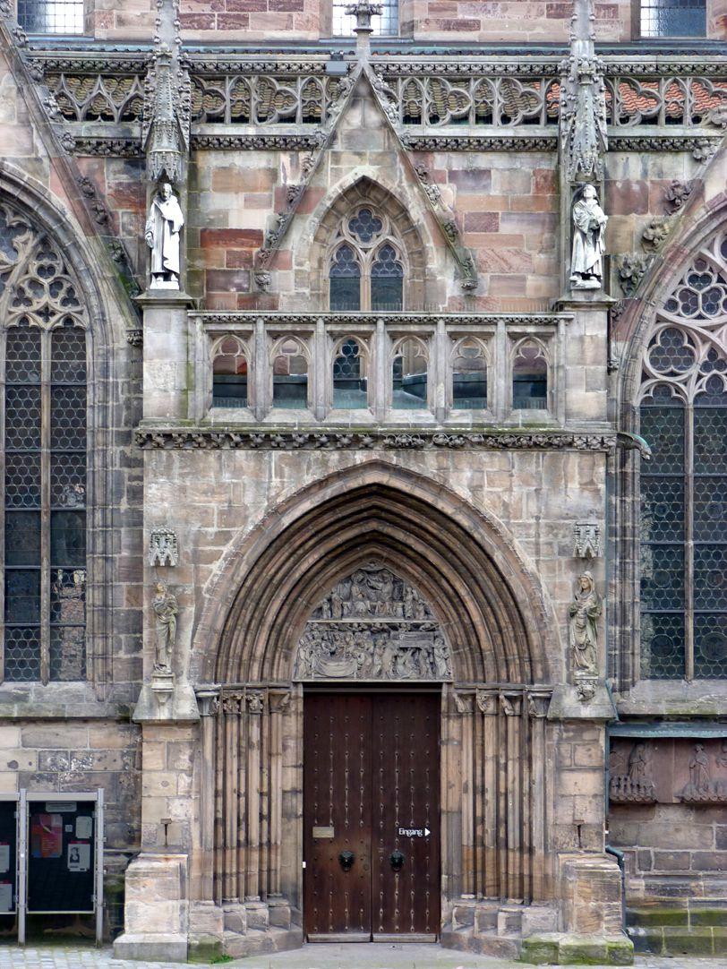 Martin Luther Ansicht mit Nordportal