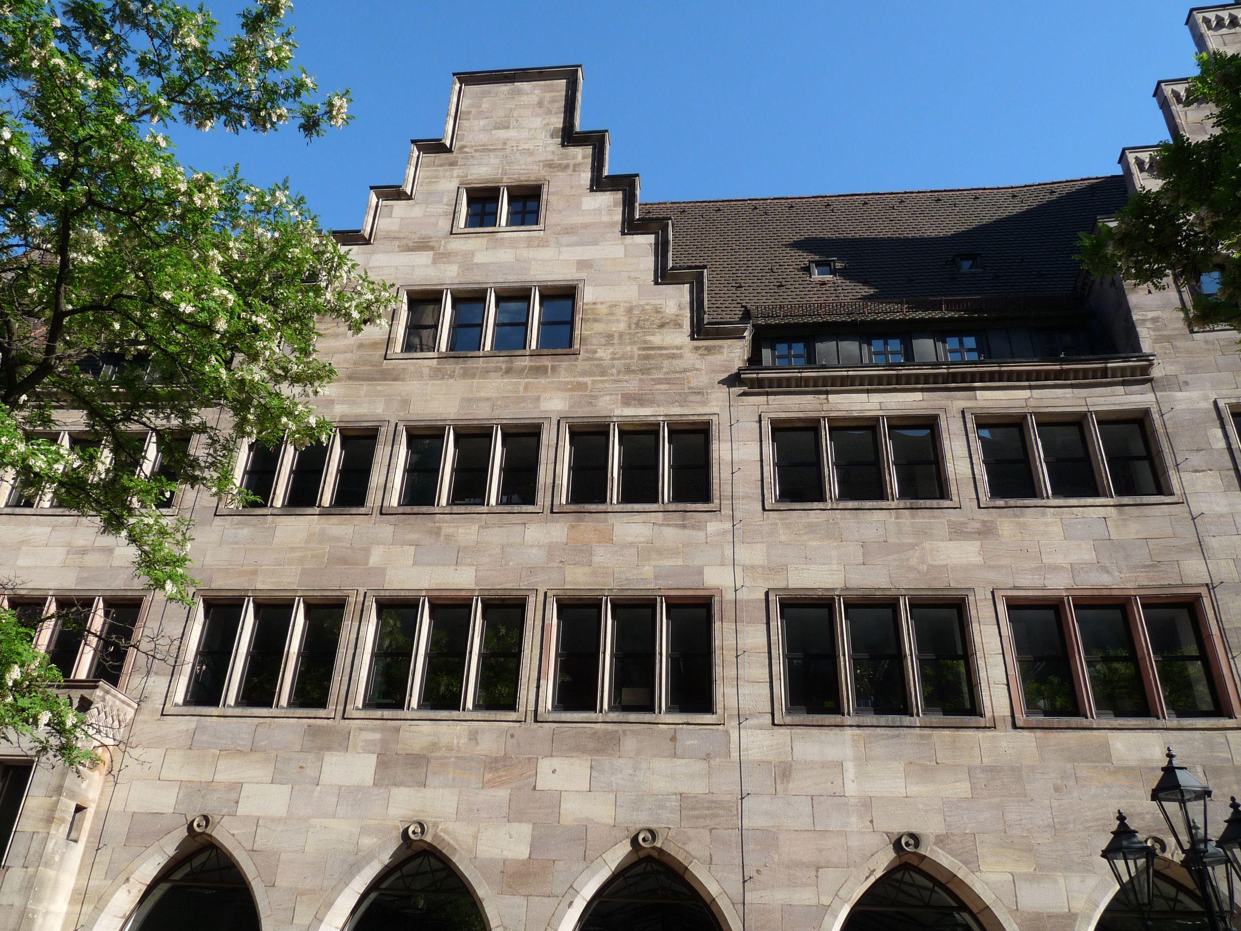 Commerzbank Detail der Nordfassade
