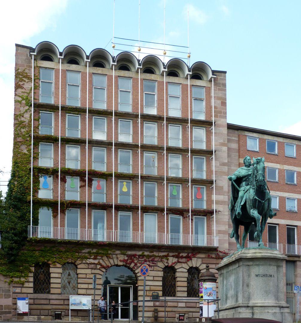 ehem. Stadtbibliothek / ehem. Pellerhaus Pellerhausfassade