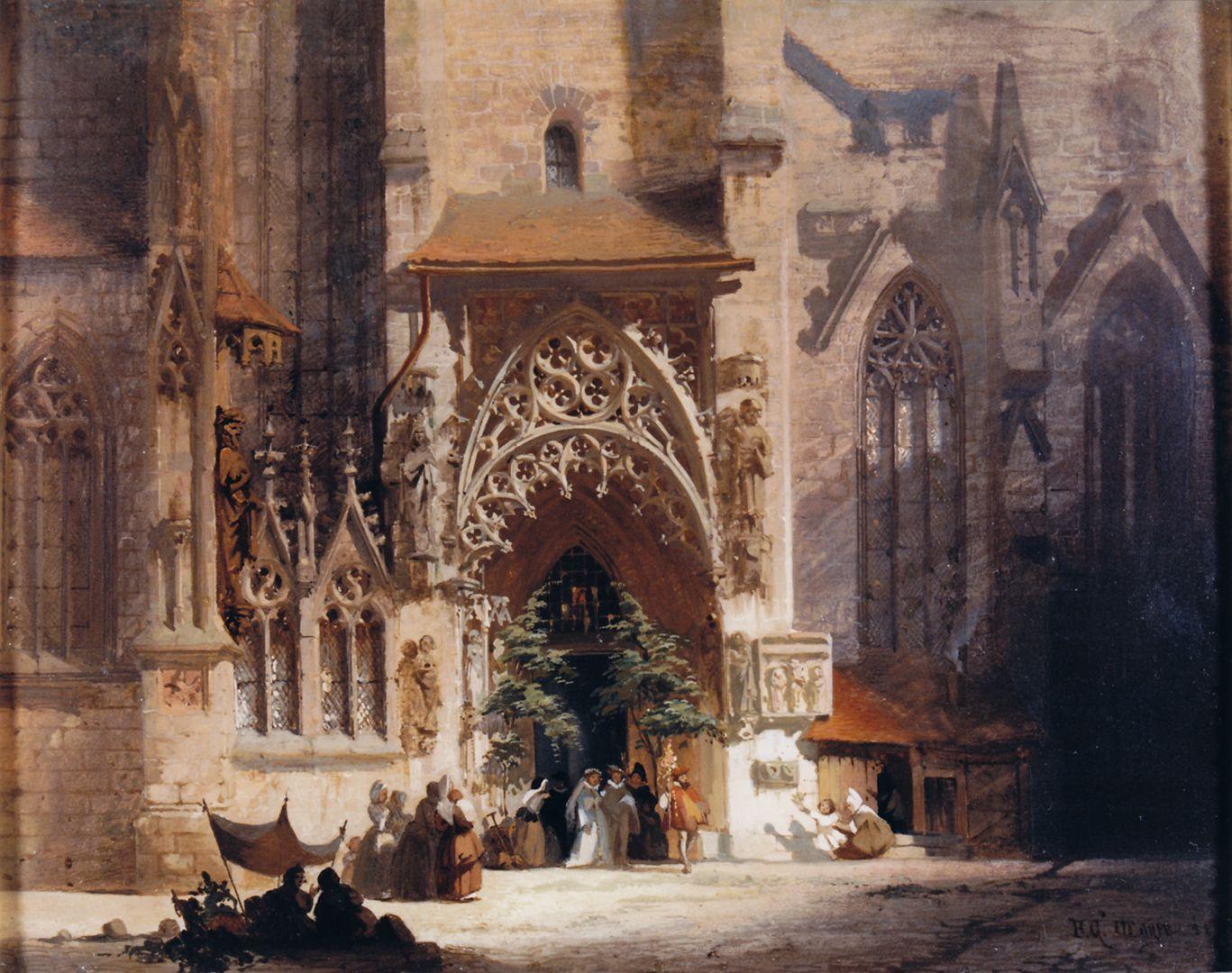 Brautportal an der Sebalduskirche