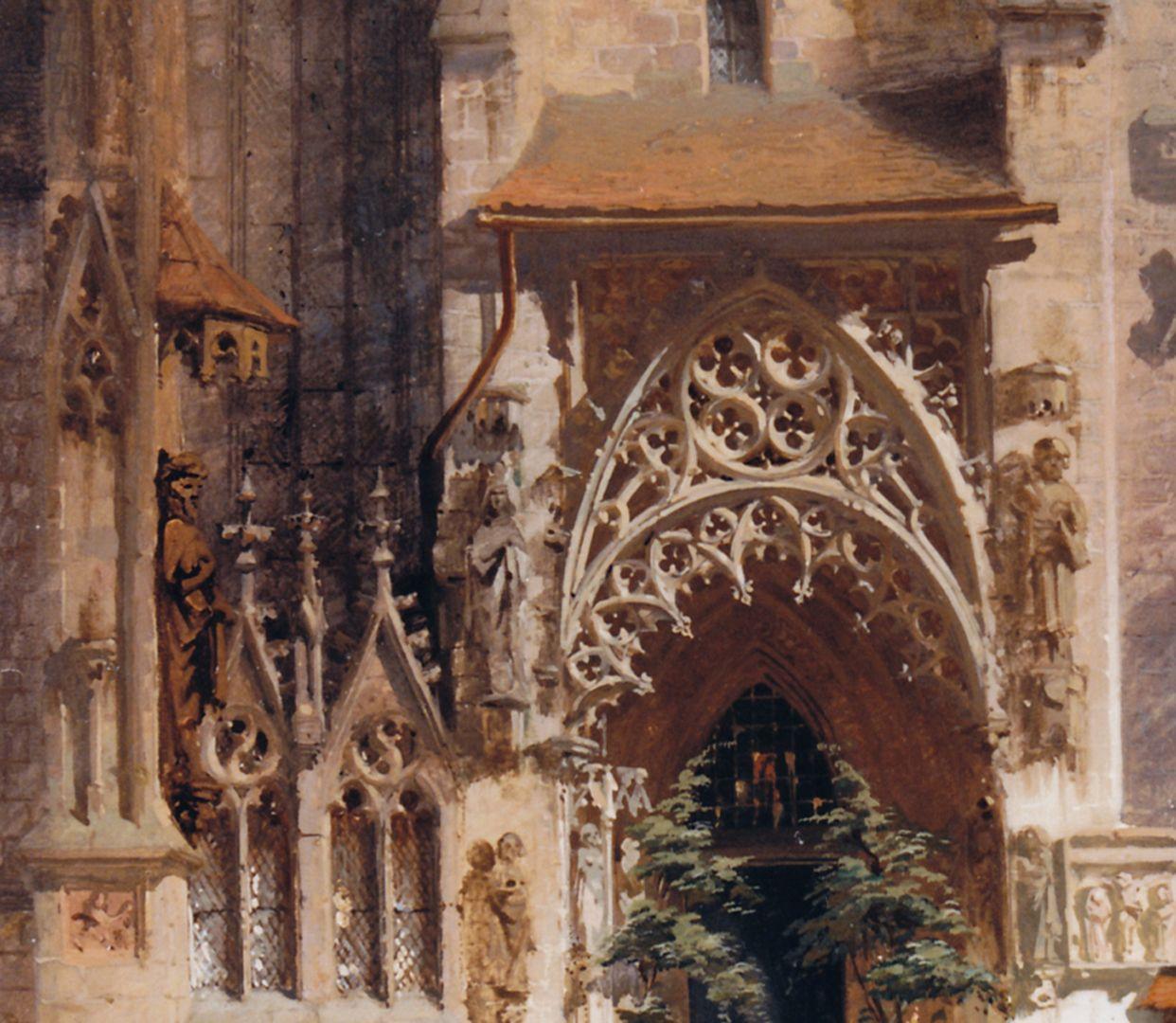 Brautportal an der Sebalduskirche Detail